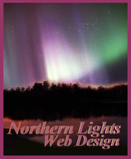 northern lights logo graphic